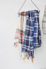 COTTON CHECK SCARF(Vas-y Lentement)