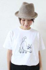 プリントTシャツ*CAT(HARVESTY)