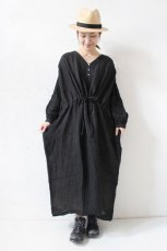 LINEN VOILE DRESS(ichi Antiquite's)