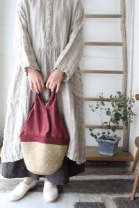 ◆SALE40%◆カゴマルシェBAG(Vlas Blomme)