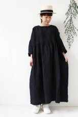 LINEN DRESS(ichi Antiquite's)