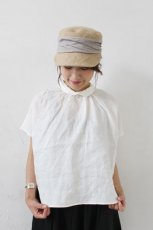 Linen French Sleeve Collared PO(HEAVENLY)<img class='new_mark_img2' src='https://img.shop-pro.jp/img/new/icons8.gif' style='border:none;display:inline;margin:0px;padding:0px;width:auto;' />