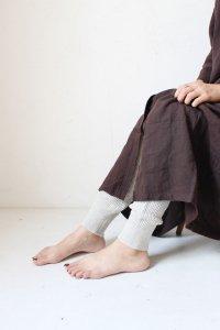 waffle knit leggings(mao made)