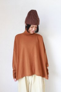 Wool Mix Knit Turtleneck Pullo(HEAVENLY)