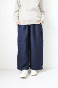 Wool Linen Wide Long PT(HEAVENLY)