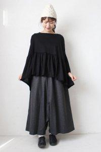 Wool Mix Sarrouel Pants(HEAVENLY)