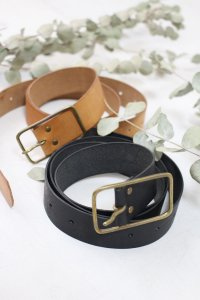 VCZ-27 PUEBLO LEATHER BELT(Veritecoeur)