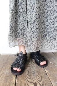 ◆SALE20%◆MESH&RING SANDAL FLAT SOLE(Punto Pigro)