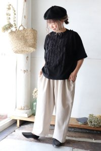 Melange Ox Wide Easy Pants(un cinq)