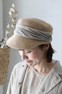 MJT-020 jute drape cap(mature ha.)<img class='new_mark_img2' src='https://img.shop-pro.jp/img/new/icons8.gif' style='border:none;display:inline;margin:0px;padding:0px;width:auto;' />