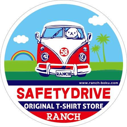 ワゴン<br />SAFETY DRIVE<br />(CARステッカー)