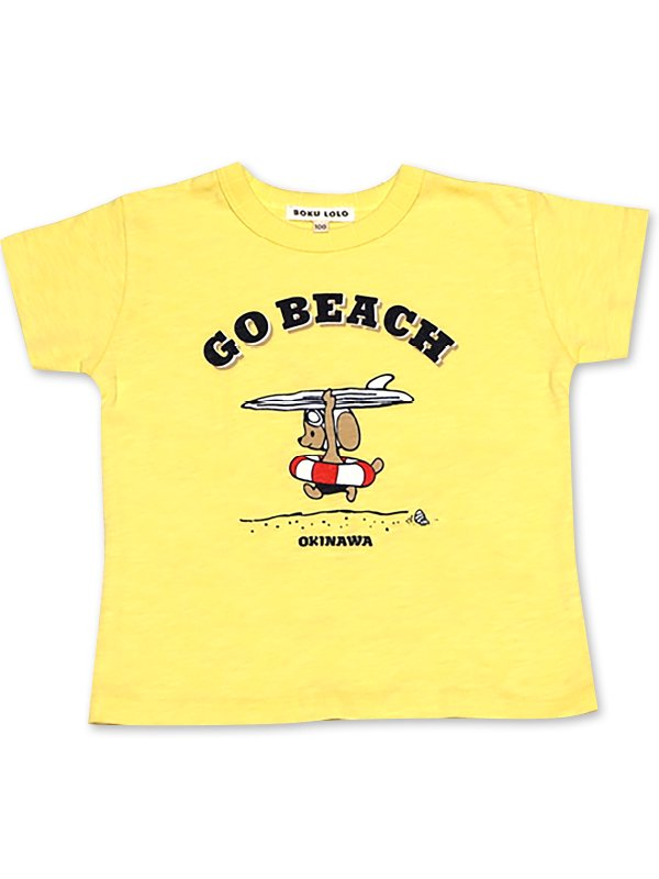 <img class='new_mark_img1' src='https://img.shop-pro.jp/img/new/icons25.gif' style='border:none;display:inline;margin:0px;padding:0px;width:auto;' />GO BEACH<br />KIDSTシャツ