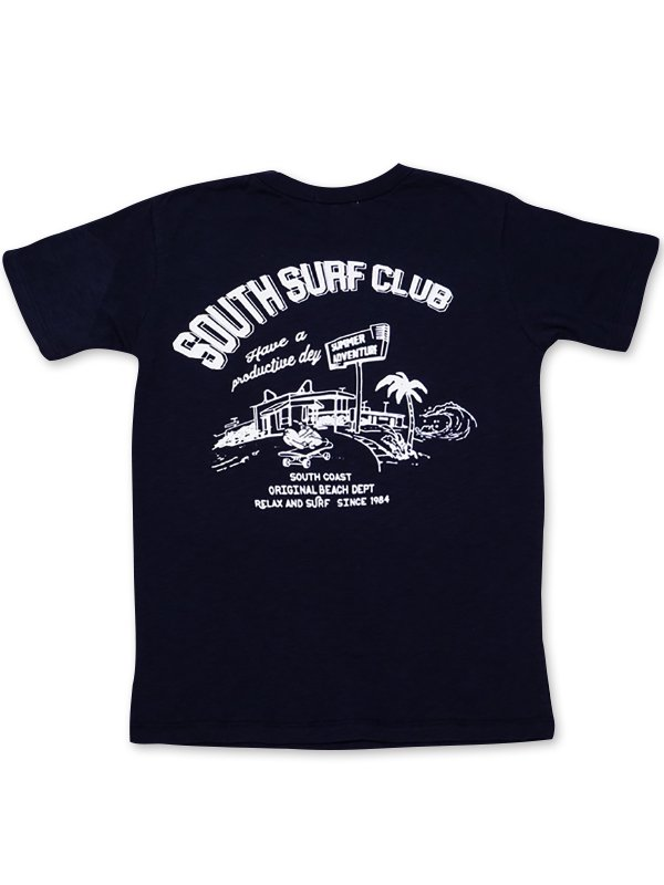 <img class='new_mark_img1' src='https://img.shop-pro.jp/img/new/icons5.gif' style='border:none;display:inline;margin:0px;padding:0px;width:auto;' />SOUTH<br/>SURF CLUB<br/>T