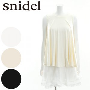 SNIDEL スナイデル カットレースコンビOP SWCO162084 【16SS2】【SALE】【50%OFF】<img class='new_mark_img2' src='https://img.shop-pro.jp/img/new/icons20.gif' style='border:none;display:inline;margin:0px;padding:0px;width:auto;' />