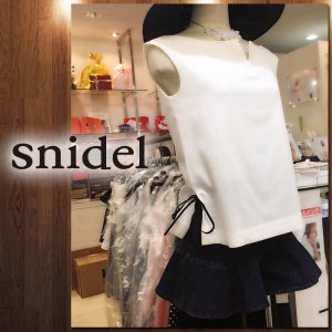 SNIDEL スナイデル オフショルノーカラーBL SWFB162205 【16SS2】【人気商品】<img class='new_mark_img2' src='https://img.shop-pro.jp/img/new/icons31.gif' style='border:none;display:inline;margin:0px;padding:0px;width:auto;' />