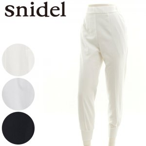 SNIDEL スナイデル 裾リブスラックスPT SWFP162206 【16SS2】【SALE】【50%OFF】<img class='new_mark_img2' src='//img.shop-pro.jp/img/new/icons20.gif' style='border:none;display:inline;margin:0px;padding:0px;width:auto;' />