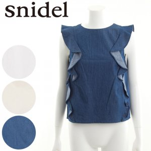SNIDEL スナイデル フリルBL SWFB162130 【16SS2】【SALE】【50%OFF】<img class='new_mark_img2' src='https://img.shop-pro.jp/img/new/icons20.gif' style='border:none;display:inline;margin:0px;padding:0px;width:auto;' />