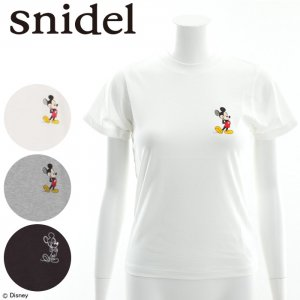 SNIDEL スナイデル DisneyコラボT SWCT162132 【16SS2】【SALE】【40%OFF】<img class='new_mark_img2' src='//img.shop-pro.jp/img/new/icons20.gif' style='border:none;display:inline;margin:0px;padding:0px;width:auto;' />