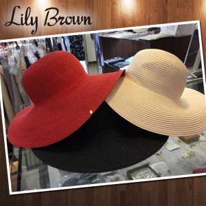 LILYBROWN リリーブラウン カラーガーデンハット LWGH162351 【16SS2】【SALE】【30%OFF】<img class='new_mark_img2' src='https://img.shop-pro.jp/img/new/icons20.gif' style='border:none;display:inline;margin:0px;padding:0px;width:auto;' />