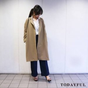 【SOLDOUT】TODAYFUL トゥデイフル Drop Shoulder Coat 11620013 【16AW1】【30☆】<img class='new_mark_img2' src='https://img.shop-pro.jp/img/new/icons47.gif' style='border:none;display:inline;margin:0px;padding:0px;width:auto;' />