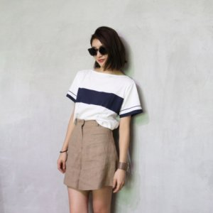 【SOLDOUT】TODAYFUL トゥデイフル Short Line Tee 11620616 【16AW1】【30☆】<img class='new_mark_img2' src='https://img.shop-pro.jp/img/new/icons47.gif' style='border:none;display:inline;margin:0px;padding:0px;width:auto;' />