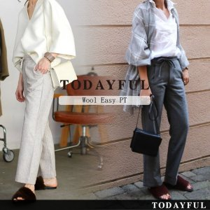 TODAYFUL トゥデイフル Wool Easy PT 11620715 【16AW1】【SALE】【30%OFF】<img class='new_mark_img2' src='https://img.shop-pro.jp/img/new/icons20.gif' style='border:none;display:inline;margin:0px;padding:0px;width:auto;' />