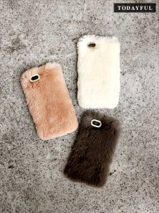 【SOLDOUT】TODAYFUL トゥデイフル Fur iPhone Case 11621005 【16AW1】<img class='new_mark_img2' src='https://img.shop-pro.jp/img/new/icons47.gif' style='border:none;display:inline;margin:0px;padding:0px;width:auto;' />