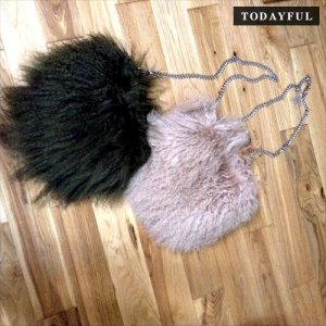 【SOLDOUT】TODAYFUL トゥデイフル Fur Chain Bag 11621013 【16AW1】<img class='new_mark_img2' src='https://img.shop-pro.jp/img/new/icons47.gif' style='border:none;display:inline;margin:0px;padding:0px;width:auto;' />