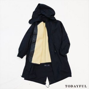 TODAYFUL トゥデイフル Boa Mods Coat 11620011 【16AW2】 【SALE】【30%OFF】 <img class='new_mark_img2' src='//img.shop-pro.jp/img/new/icons20.gif' style='border:none;display:inline;margin:0px;padding:0px;width:auto;' />