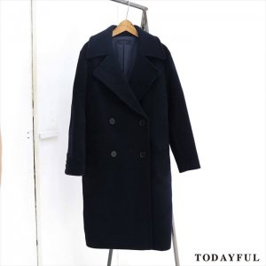 【SOLDOUT】TODAYFUL トゥデイフル Dropshoulder Long Coat 11620017 【16AW2】 <img class='new_mark_img2' src='//img.shop-pro.jp/img/new/icons47.gif' style='border:none;display:inline;margin:0px;padding:0px;width:auto;' />