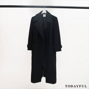 【SOLDOUT】TODAYFUL トゥデイフル Shaggy Long Coat 11620018 【16AW2】 <img class='new_mark_img2' src='//img.shop-pro.jp/img/new/icons47.gif' style='border:none;display:inline;margin:0px;padding:0px;width:auto;' />