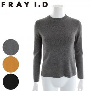 FRAYI.D フレイアイディー クルーネックニット FWNT165623 【16AW2】 【SALE】【50%OFF】<img class='new_mark_img2' src='//img.shop-pro.jp/img/new/icons20.gif' style='border:none;display:inline;margin:0px;padding:0px;width:auto;' />