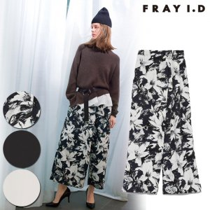 FRAYI.D フレイアイディー ラップワイドクロップドPT FWFP164032 【16AW1】【SALE】【40%OFF】 <img class='new_mark_img2' src='//img.shop-pro.jp/img/new/icons20.gif' style='border:none;display:inline;margin:0px;padding:0px;width:auto;' />