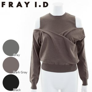 FRAYI.D フレイアイディー オフショルレイヤーニット FWNT164548 【16AW1】【SALE】【50%OFF】 <img class='new_mark_img2' src='https://img.shop-pro.jp/img/new/icons20.gif' style='border:none;display:inline;margin:0px;padding:0px;width:auto;' />