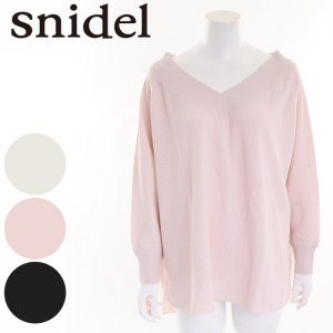 SNIDEL スナイデル ソフトワッフルカットソー SWCT164170 【16AW1】【SALE】【50%OFF】 <img class='new_mark_img2' src='//img.shop-pro.jp/img/new/icons20.gif' style='border:none;display:inline;margin:0px;padding:0px;width:auto;' />