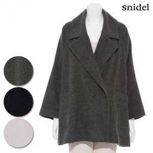 SNIDEL スナイデル Aラインビッグシルエットコート SWFC164015 【16AW1】【SALE】【50%OFF】<img class='new_mark_img2' src='//img.shop-pro.jp/img/new/icons20.gif' style='border:none;display:inline;margin:0px;padding:0px;width:auto;' />