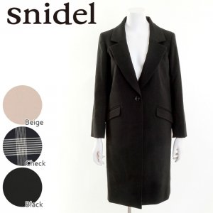 SNIDEL スナイデル チェスターコート SWFC164017 【16AW1】【SALE】【50%OFF】 <img class='new_mark_img2' src='https://img.shop-pro.jp/img/new/icons20.gif' style='border:none;display:inline;margin:0px;padding:0px;width:auto;' />