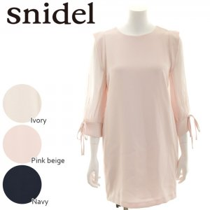 SNIDEL ���ʥ��ǥ� ���꡼�֥ǥ�����OP SWFO164144 ��16AW1�ۡڿ���� <img class='new_mark_img2' src='http://diva-brandshop.com/img/new/icons11.gif' style='border:none;display:inline;margin:0px;padding:0px;width:auto;' />