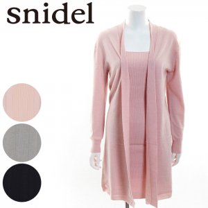 SNIDEL スナイデル カーデセットニットOP SWNO164059 【16AW1】【SALE】【50%OFF】 <img class='new_mark_img2' src='//img.shop-pro.jp/img/new/icons20.gif' style='border:none;display:inline;margin:0px;padding:0px;width:auto;' />