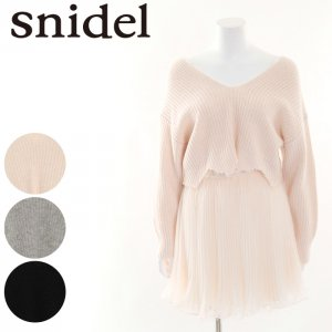 SNIDEL ���ʥ��ǥ� ���᡼���˥åȥ����OP SWNO164060 ��16AW1�� �ڿ���� <img class='new_mark_img2' src='http://diva-brandshop.com/img/new/icons11.gif' style='border:none;display:inline;margin:0px;padding:0px;width:auto;' />