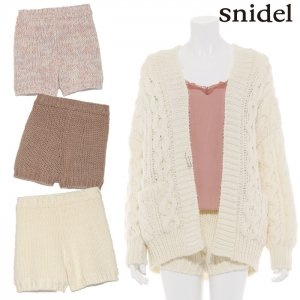【SOLDOUT】SNIDEL スナイデル ローゲージショートパンツ SWNP164128 【16AW1】【50☆】<img class='new_mark_img2' src='//img.shop-pro.jp/img/new/icons47.gif' style='border:none;display:inline;margin:0px;padding:0px;width:auto;' />
