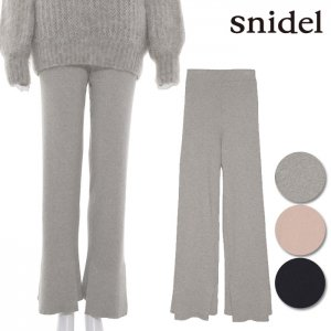 SNIDEL スナイデル リブニットストレートパンツ SWNP164213 【16AW1】【SALE】【50%OFF】<img class='new_mark_img2' src='//img.shop-pro.jp/img/new/icons20.gif' style='border:none;display:inline;margin:0px;padding:0px;width:auto;' />
