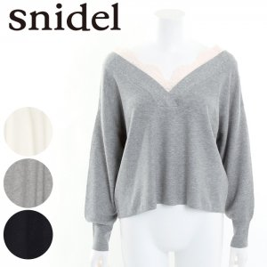 SNIDEL ���ʥ��ǥ� �졼������˥å�PO SWNT164084 ��16AW1�� �ڿ���� <img class='new_mark_img2' src='//img.shop-pro.jp/img/new/icons11.gif' style='border:none;display:inline;margin:0px;padding:0px;width:auto;' />
