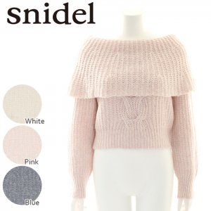 SNIDEL ���ʥ��ǥ� ��إ��������������ץ�˥åȥ��ԡ��� SWNO164061��16AW1�ۡڿ����<img class='new_mark_img2' src='//img.shop-pro.jp/img/new/icons11.gif' style='border:none;display:inline;margin:0px;padding:0px;width:auto;' />