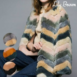 LILY BROWN ��꡼�֥饦�� �ե������ե��������� LWFC164118 ��16AW1�ۡڿ����<img class='new_mark_img2' src='//img.shop-pro.jp/img/new/icons11.gif' style='border:none;display:inline;margin:0px;padding:0px;width:auto;' />
