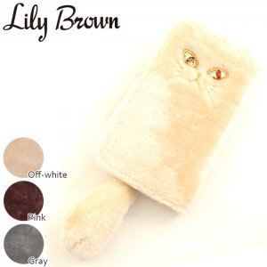 【SOLDOUT】LILY BROWN リリーブラウン キャットiPhoneケース LWGG164339 【16AW1】【50☆】<img class='new_mark_img2' src='https://img.shop-pro.jp/img/new/icons47.gif' style='border:none;display:inline;margin:0px;padding:0px;width:auto;' />