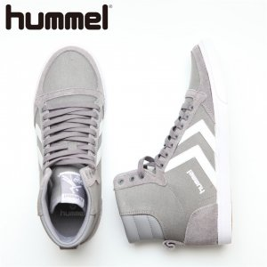 HUMMEL ヒュンメル SLIMMER STADIL HIGH CVS 【カラー: Frost Grey】 HM63111K-2094 【16AW】 【新作】 <img class='new_mark_img2' src='https://img.shop-pro.jp/img/new/icons11.gif' style='border:none;display:inline;margin:0px;padding:0px;width:auto;' />