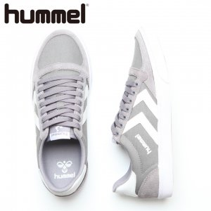 HUMMEL ヒュンメル Slimmer Stadil Low CVS 【カラー: Frost Grey】 HM63112K-2094 【16AW】 【新作】 <img class='new_mark_img2' src='//img.shop-pro.jp/img/new/icons11.gif' style='border:none;display:inline;margin:0px;padding:0px;width:auto;' />