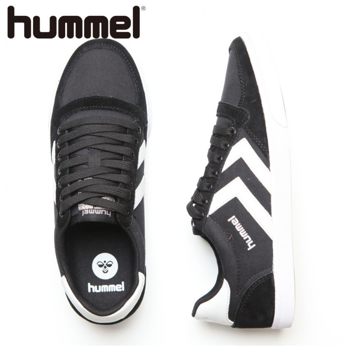 HUMMEL ヒュンメル Slimmer Stadil Low CVS 【カラー: Black/White】 HM63112K-2114 【16AW】 【新作】