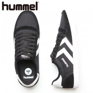 HUMMEL ヒュンメル Slimmer Stadil Low CVS 【カラー: Black/White】 HM63112K-2114 【16AW】 【新作】 <img class='new_mark_img2' src='//img.shop-pro.jp/img/new/icons11.gif' style='border:none;display:inline;margin:0px;padding:0px;width:auto;' />